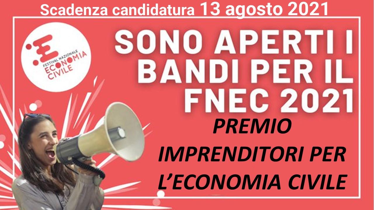 Bando Festival dell'Economia civile